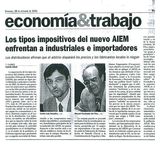 Los tipos impositivos del nuevo AIEM enfrentan a industriales e importadores