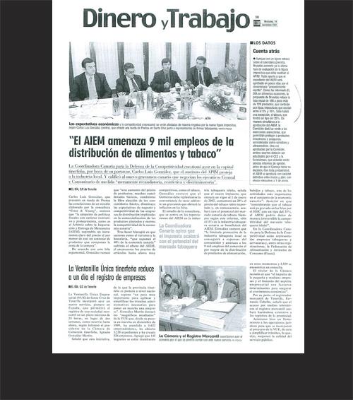 «El AIEM amenaza 9 mil empleos de la distribución de alimentos y tabaco»