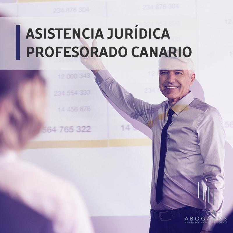 El profesorado canario dispondrá de asistencia jurídica antes de que termine el curso