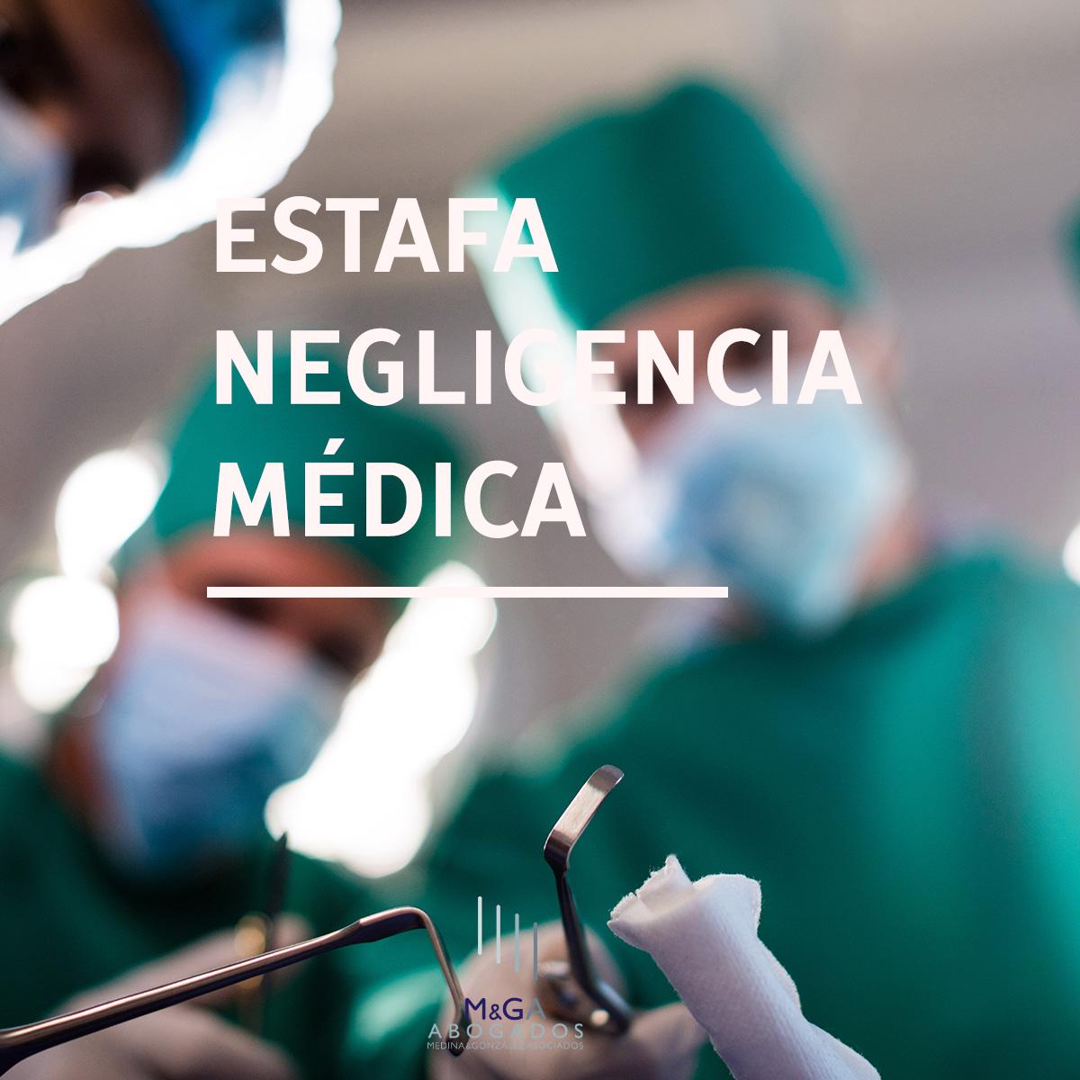Estafan más de 160.000 euros con la promesa de conseguir una indemnización por negligencia médica