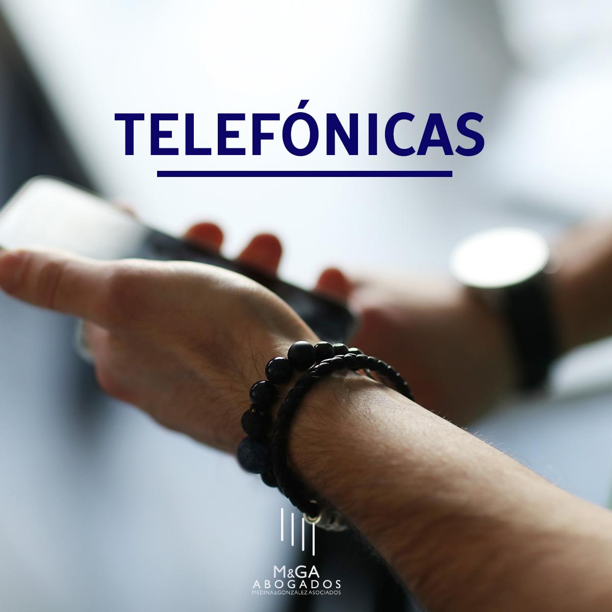 Las compañías telefónicas tendrán que entregar previamente y por escrito sus condiciones a los usuarios que las soliciten